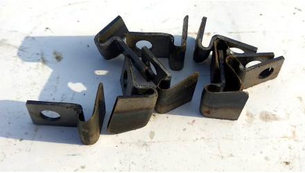 Нож шпагата пресс-подборщика Welger, Г-образный (OEM 0364.03.00)
