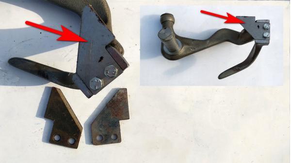Нож для шпагата вязального аппарата пресс-подборщика Sipma (Сипма) Z-224 (OEM 2026-070-108.10)