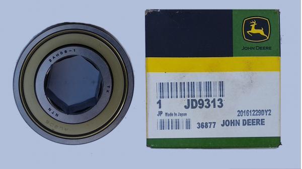 Подшипник радиальный самоустанавливающийся (шестигранник) (oem JD9313) для пресс-подборщиков John Deere (Джон Дир) (2AH06-1)