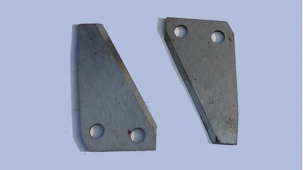 Нож обрезной вязального аппарата John Deere (E61164)