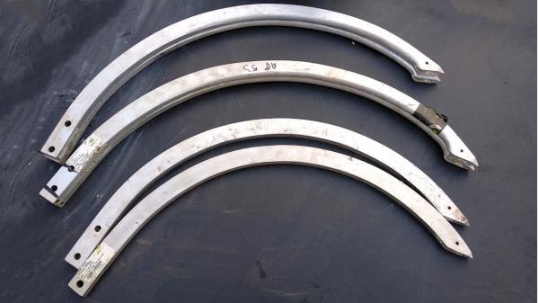 Игла алюминиевая пресс-подборщика Welger (Велгер) 59.024.00/ALU для моделей AP48, AP52-II, AP 500, AP 53, AP 530